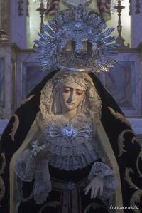 Virgen de los Dolores (Mairena del Aljarafe) Besamanos 2010